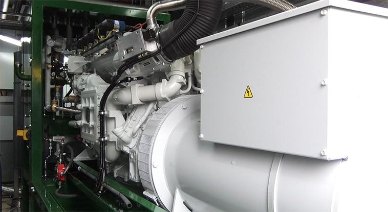 ERP Software Motoren en Generatoren - machine