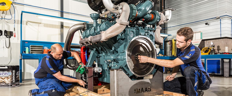 ERP Software Motoren en Generatoren