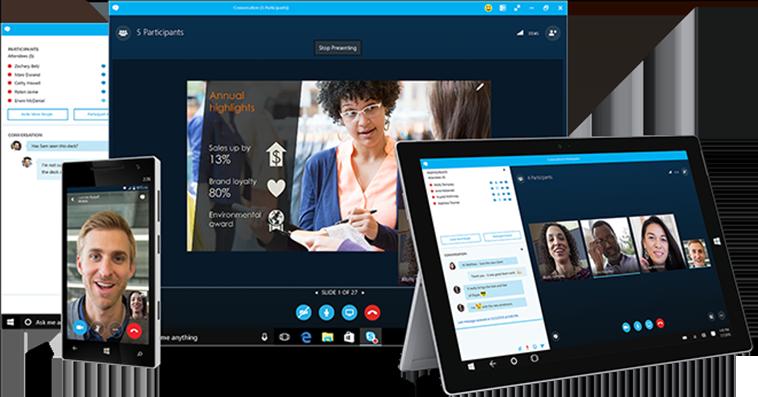 Office 365 Skype voor Bedrijven - Op al uw apparaten