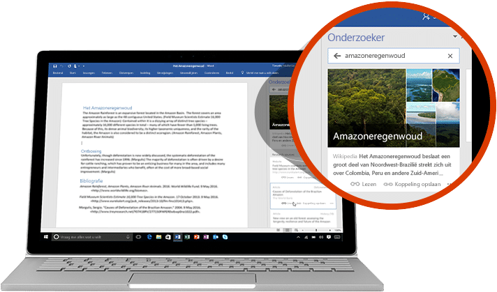 Office 365 Word - Schrijfassistent