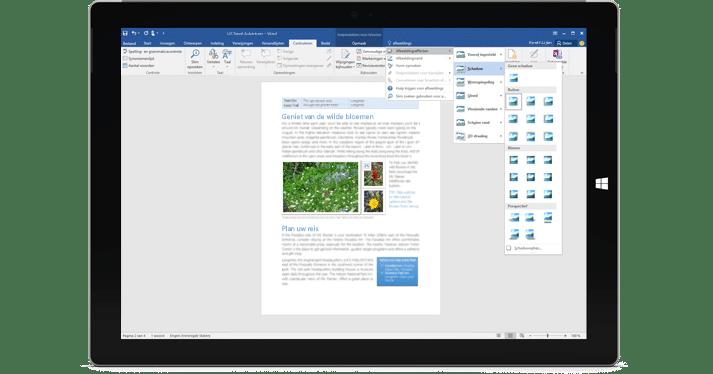 Documenten opmaken nog makkelijker met Word 2016
