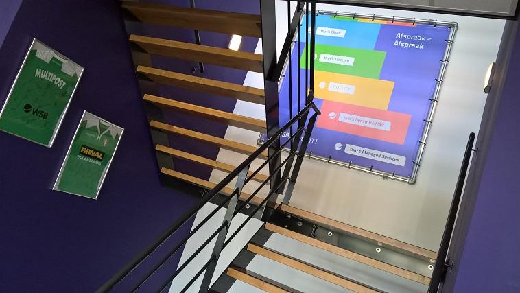 WSB Solutions - kantoor Hardinxveld-Giessendam - trap