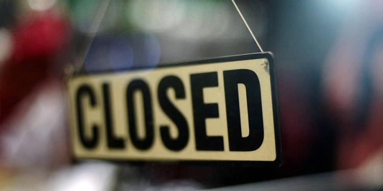E-commerce - gesloten