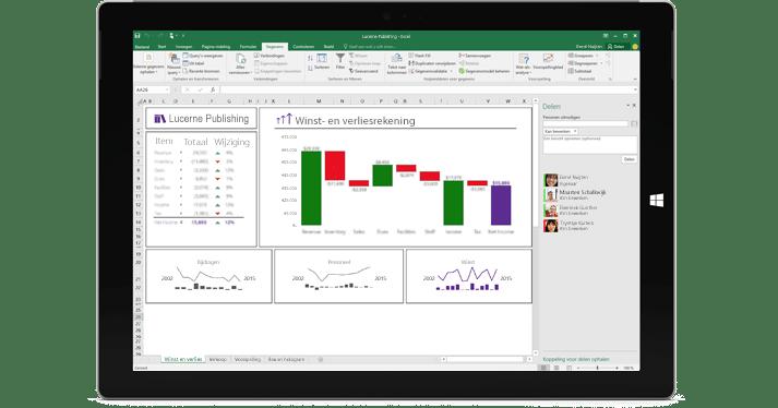 Office 365 Excel - Samenwerken en bestanden delen