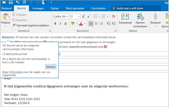 Office 365 Exchange - veiligheid