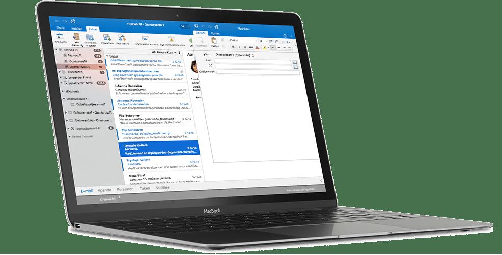 Outlook. Ook beschikbaar op uw Mac.