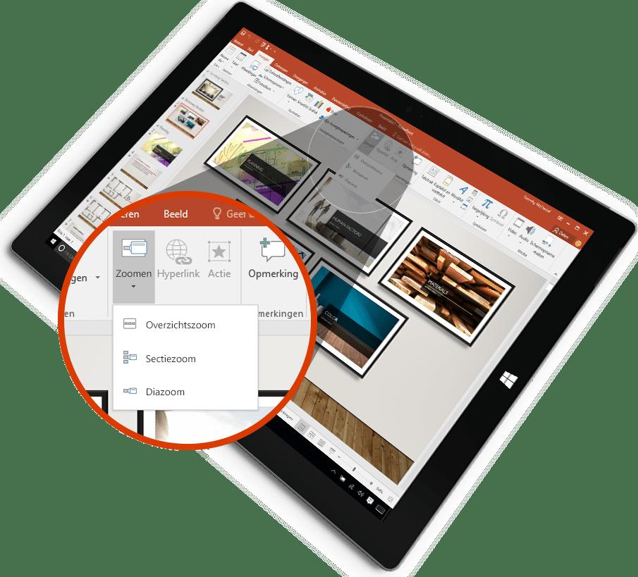 Office 365 PowerPoint - Presentatie geven
