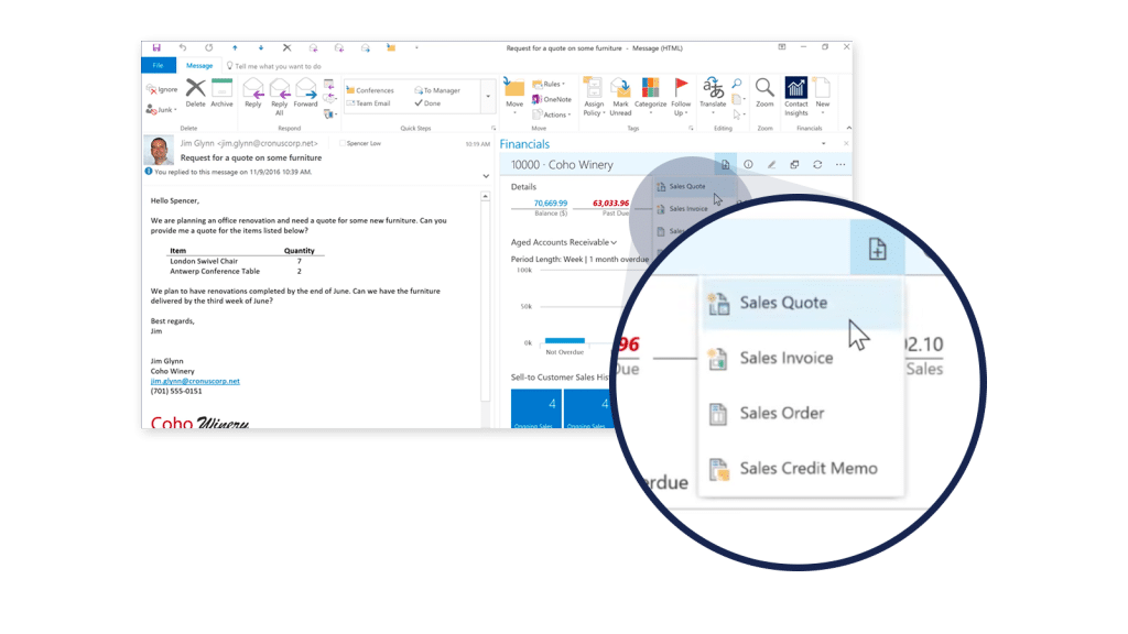 Dynamics 365 Finance and Operations - Sales