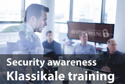 Security Awareness klassikale training