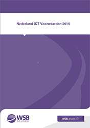 Terms and Conditions WSB Solutions - Nederland ICT Terms and Conditions 2014