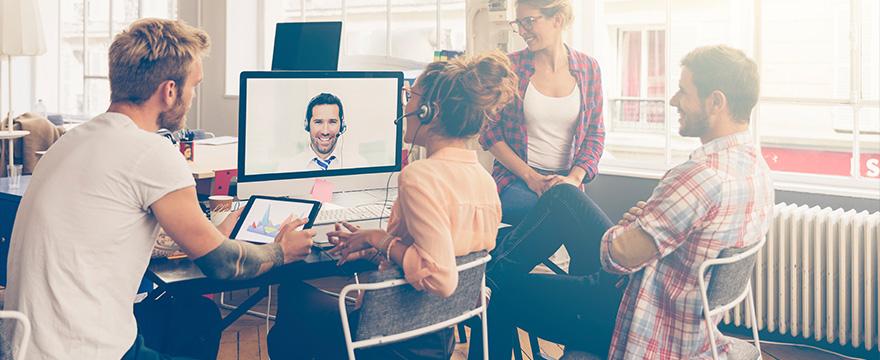 Slim vergaderen met Skype voor Bedrijven