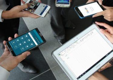 Wifi op telefoons en tablets