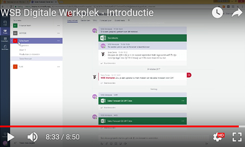 Video WSB Digitale Werkplek Introductie