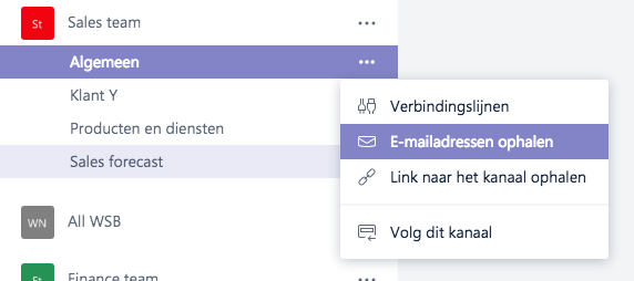 Microsoft Teams - Email