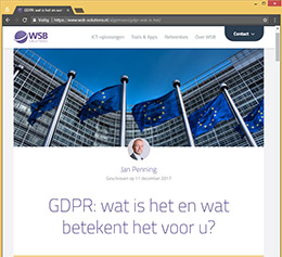 Blog GDPR
