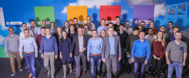 Medewerkers WSB Solutions - groepsfoto