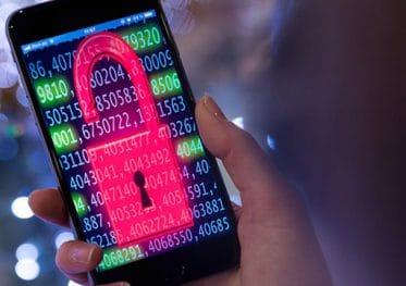 Beveiliging mobiele apparaten smartphone