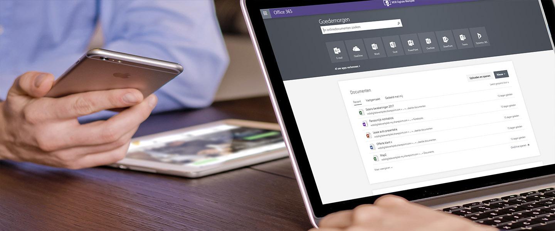 WSB Moderne Werkplek - Online werkplek voor het MKB