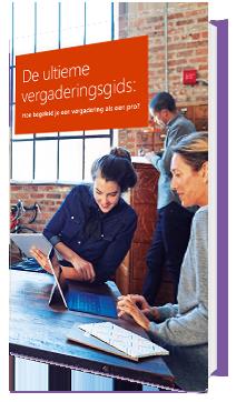 E-book 'De ultieme vergadergids. Hoe begeleid je een vergadering als een pro?'