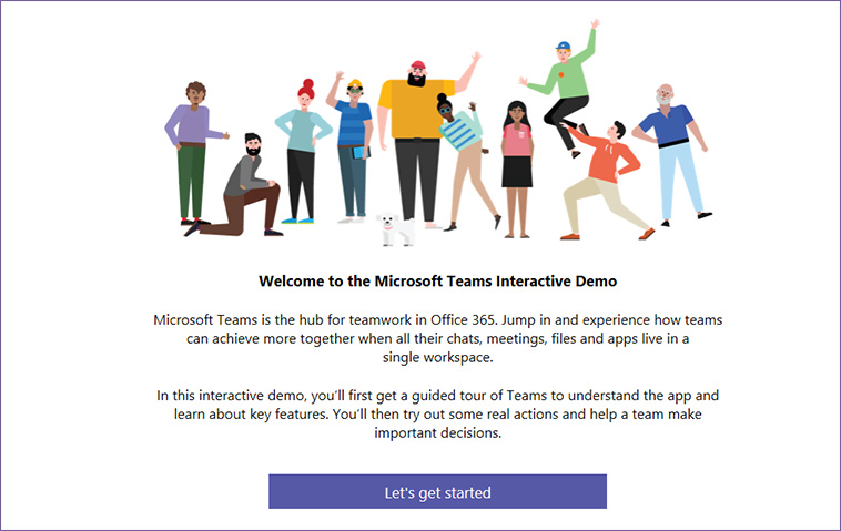 Microsoft Teams - Interactieve demo
