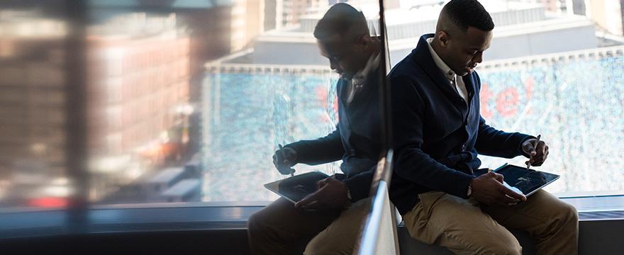 Beveiliging mobiele apparaten met EMS
