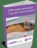 E-book CRM pakket selecteren - trap niet in deze valkuilen