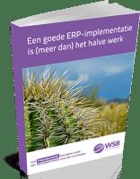 E-book - Een goede ERP-implementatie is meer dan het halve werk