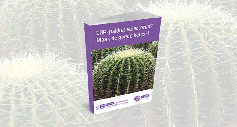 E-book ERP pakket selecteren - maak de goede keuze