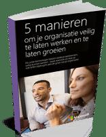 E-book -Vijf manieren uw bedrijf veilig en succesvol