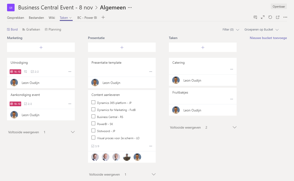 Planner in Teams