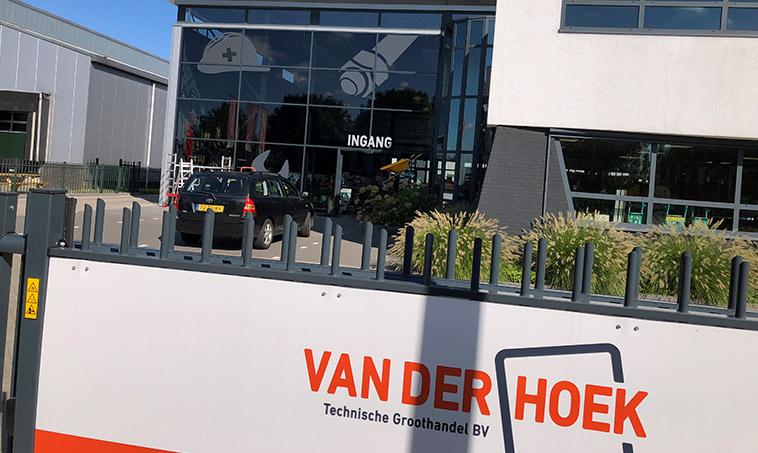 Van der Hoek Groothandel - ingang