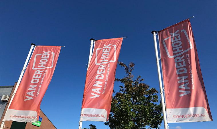 Van der Hoek Groothandel - vlaggen