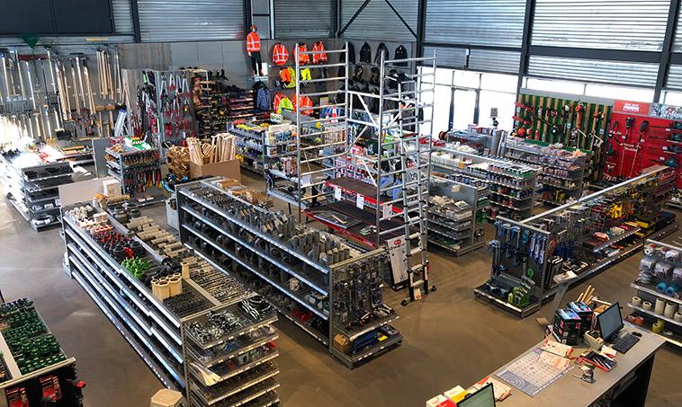 Van der Hoek Groothandel - winkel Hazerswoude