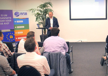 video AVG seminar - Wat is AVG - Jan Penning - WSB Solutions