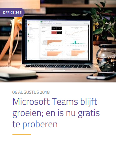 Blog Microsoft Teams