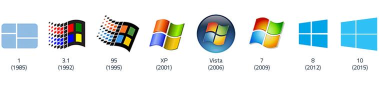 Microsoft Windows versies