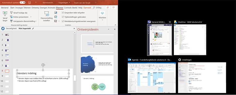Vensters in Windows 10