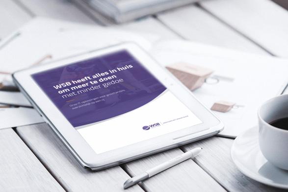 ICT voor groothandels brochure WSB Solutions