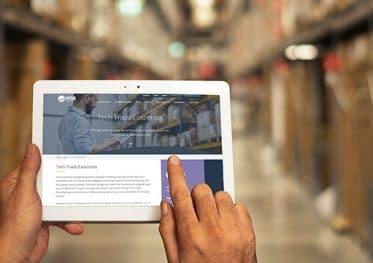 Tech Trade Essentials app voor groothandels