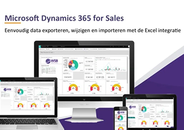 Video Microsoft Dynamics 365 for Sales CRM - Excel integratie