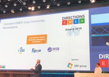 Directions EMEA 2019 podium