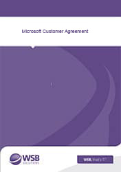 Microsoft Customer Agreement