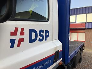 DSP Nederland - vrachtwagen
