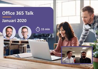 Office 365 Talk januari 2020