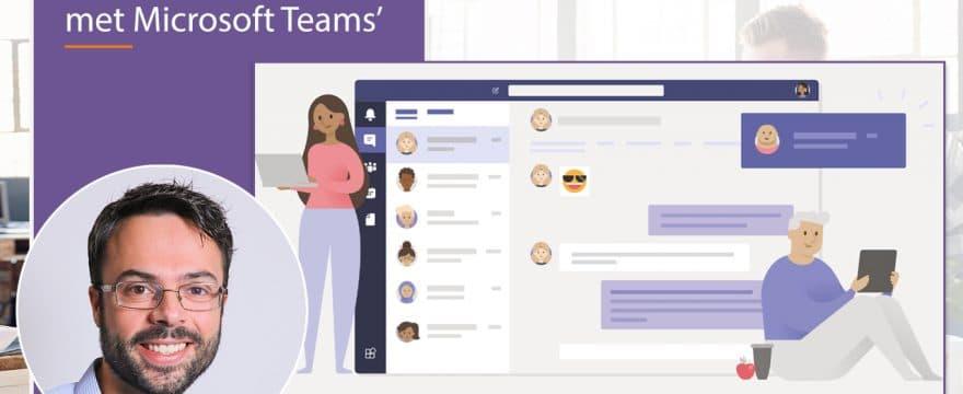 Webinar Thuiswerken met Microsoft Teams