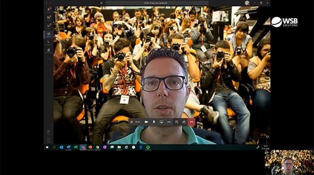 Video - eigen achtergrond maken in Microsoft Teams tijdens videobellen