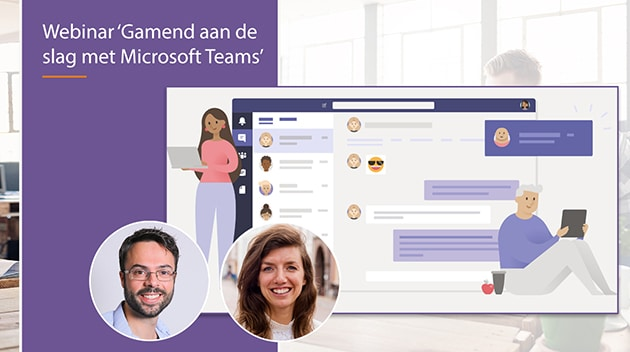 video webinar gamend aan de slag met microsoft teams