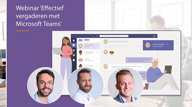 video webinar vergaderen met microsoft teams