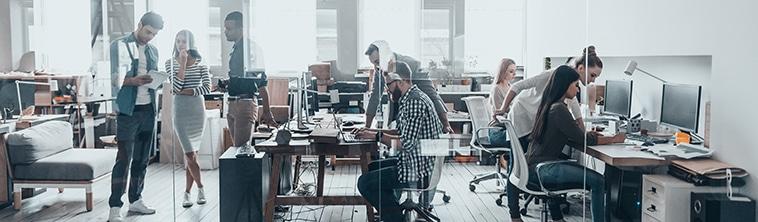 Kantoor - werken in de cloud