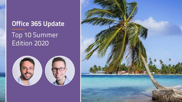 Video Best of Office 365 updates - Top 10 Summer Edition 2020
